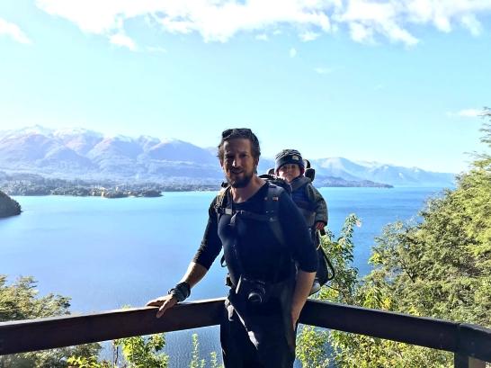 Overlooking the lake